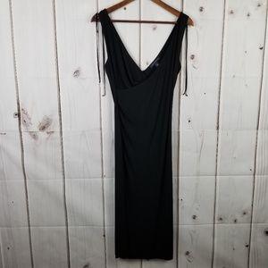 Banana Republic Black Sleeveless Dress Size M